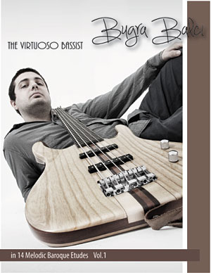 "Bugra Balci Releases ""The Virtuoso Bassist in 14 Melodic Baroque Etudes"""