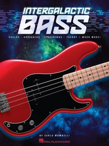 Intergalactic Bass Scales Arpeggios Fingerings Theory Much More