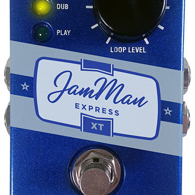 Digitech Announces JamMan Express XT Looping Pedal