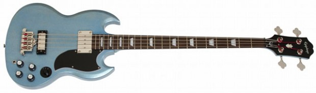 Epiphone Limited Edition TV Pelham Blue EB-3 Bass