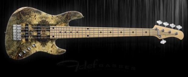 Fclef Basses Custom Series II Bass - Buckeye-Burl