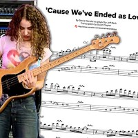 """Transcription: Tal Wilkenfeld's """"Cause We've Ended As Lovers"""" Solo"""