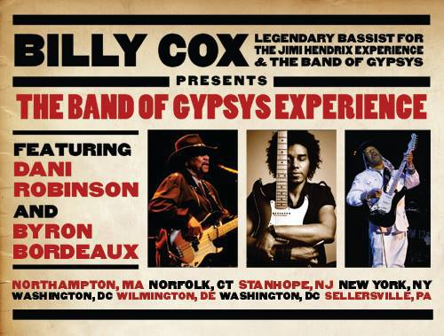 Billy Cox and The Band of Gypsys Experience Announce Tour Dates