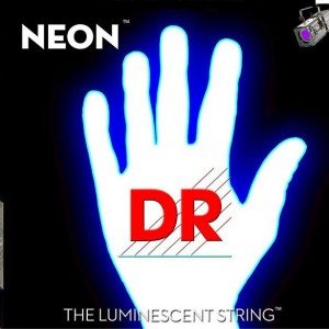 DR Strings Adds White Bass Strings to NEON Hi-Def Line