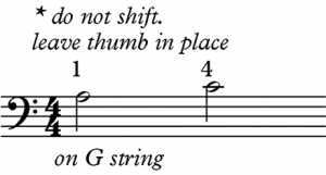 Left Hand Technique: Pivoting - figure 2