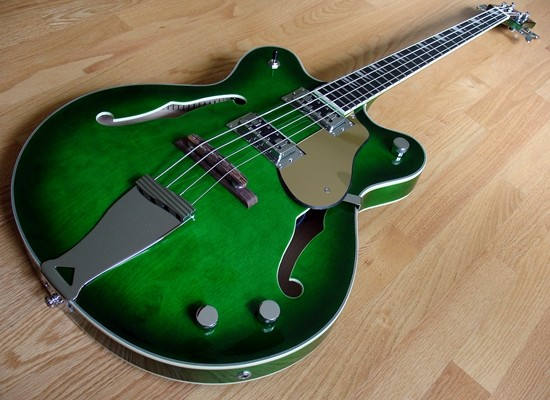 Eastwood Announces Limited Edition Classic 4 Bass in Greenburst
