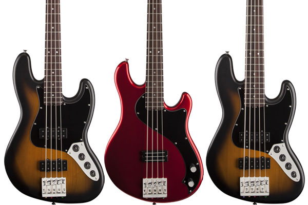 Fender Announces Modern Player 2.0 Basses