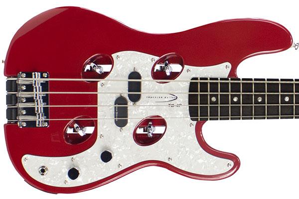 Traveler Guitar Adds Duncan Designed Pickups to TB-4P Bass