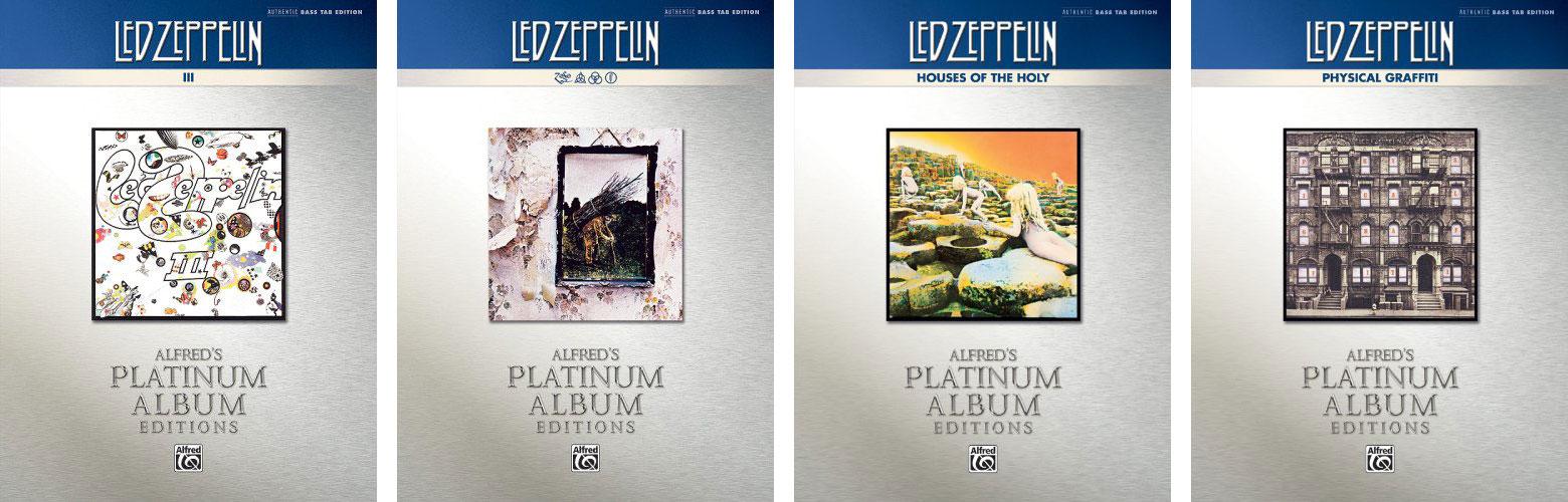 led zeppelin platinum bass titles