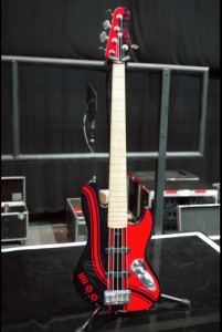 Sandy Beales' Overwater 5-string Jazz Bass