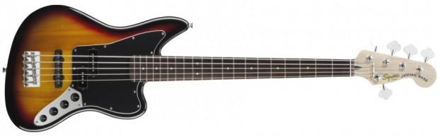 Squier Vintage Modified Jaguar Bass V - Three-color Sunburst