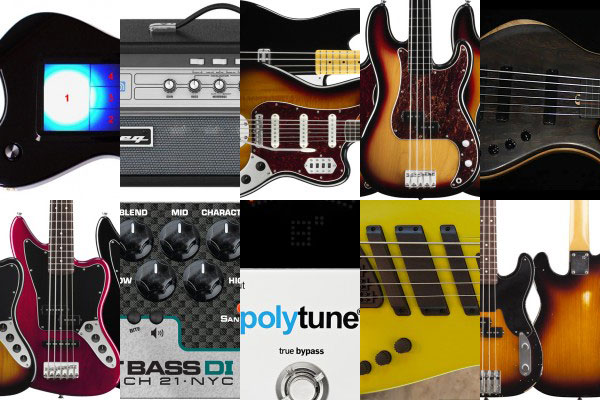 Bass Gear Roundup: The Top Gear Stories in August