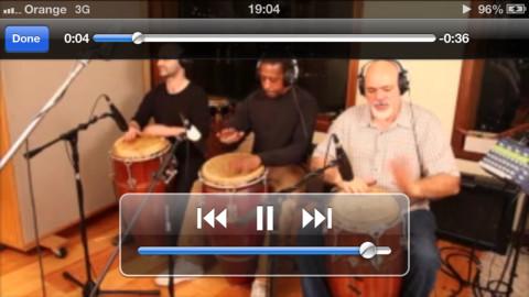 PercussionTutor Screen Example 4