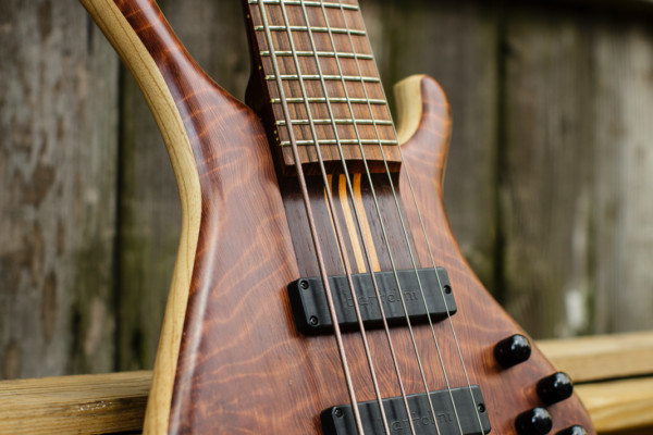 "Bass of the Week: Adam ""Nolly"" Getgood's G-Spot Basses Temptress"