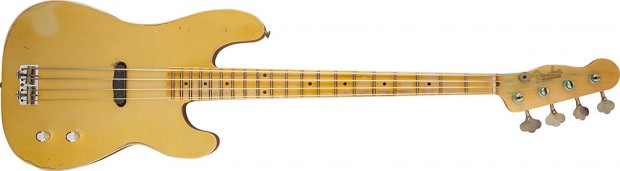 Fender Custom Shop Limited Edition Gold Top Dusty Hill Precision Bass