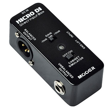 Mooer Audio Introduces Micro DI Pedal