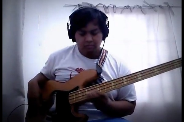 "Chad Villar: All Bass Cover of Stevie Wonder's ""Isn't She Lovely"""