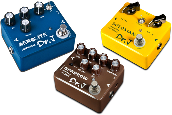 Osiamo Introduces Dr. J Effects Pedal Series