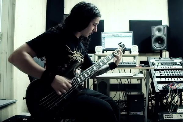 Cryptopsy: Two-Pound Torch Bass and Guitar Playthrough