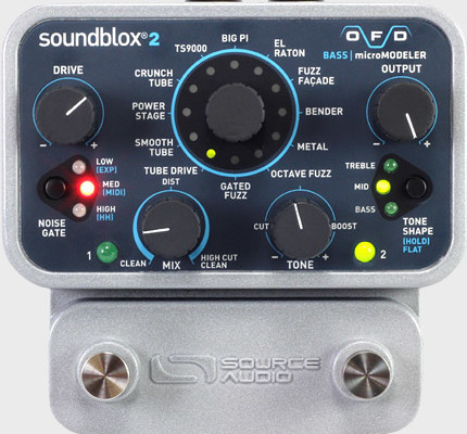 Source Audio Introduces OFD Bass microModeler