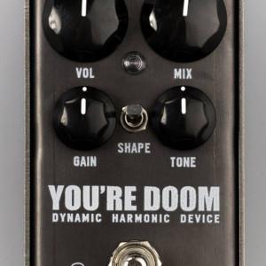 3Leaf Audio Announces You're Doom Fuzz Pedal