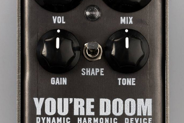 3Leaf Audio Announces You're Doom Fuzz Pedal