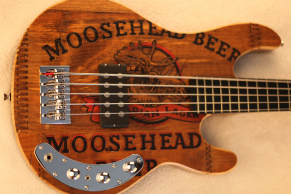 Bass of the Week: Grove Guitars FHP Bull Moose 5