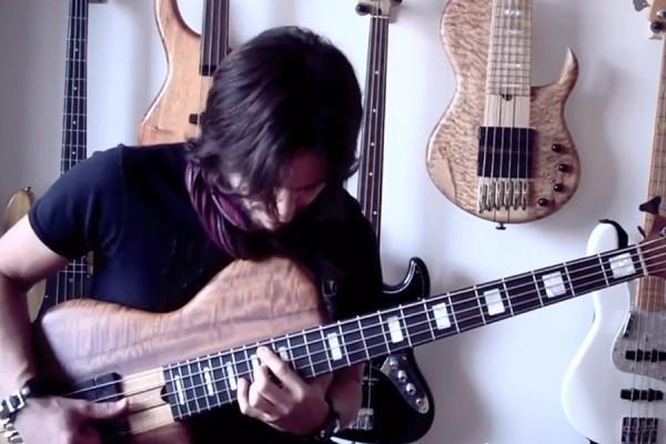 "Andres Rotmistrovsky: ""Thriller"" Solo Bass Arrangement"