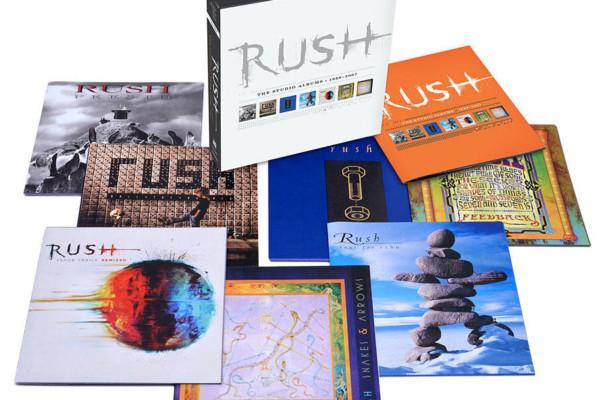 "Rush Releases ""Vapor Trails Remixed"" and Atlantic Records Box Set"