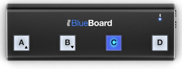 IK Multimedia iRig BlueBoard Wireless MIDI Pedalboard