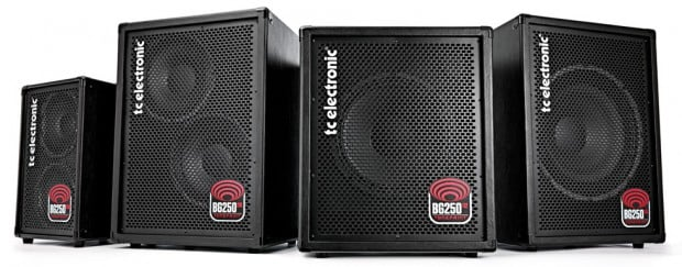 TC Electronic BG250 Series Combo Bass Amps