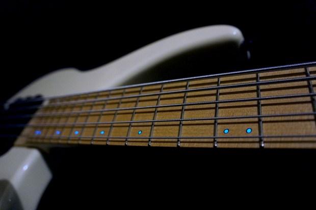 Dingwall Guitars Alberto Rigoni AR5 Bass neck with Luminlay markers