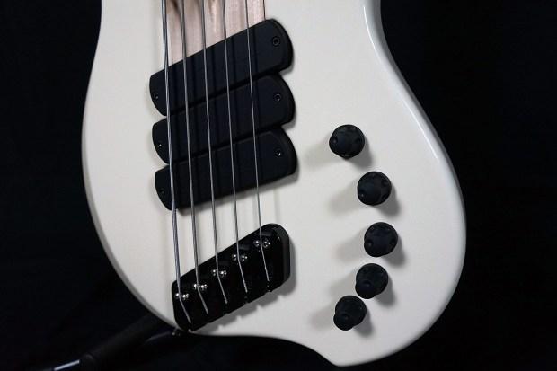 Dingwall Guitars Alberto Rigoni AR5 Bass controls
