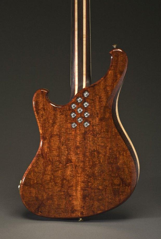 Scott Walker California Bass - P-body back