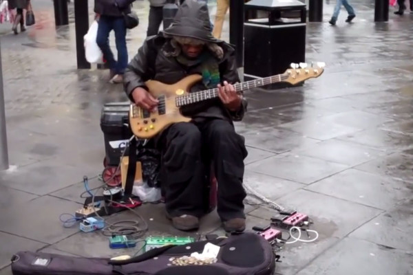 Ojay: Funky Newcastle Street Performance