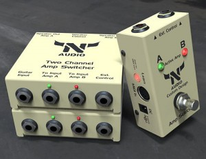 N-Audio Two Amps To Cabinet Amp Switcher