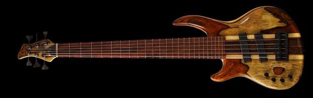 Jimmy Haslip's Wyn Guitars Gabriella Rose Bass