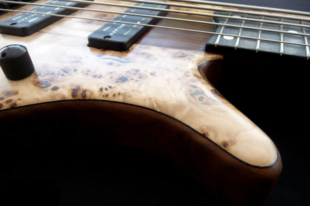 Franz Bassguitars Sirius Bass - Lower Horn