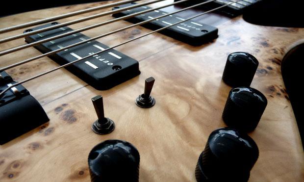 Franz Bassguitars Sirius Bass - Pickups & Controls