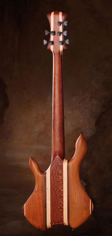 Zoov Guitars Classic 5 Bass - Back