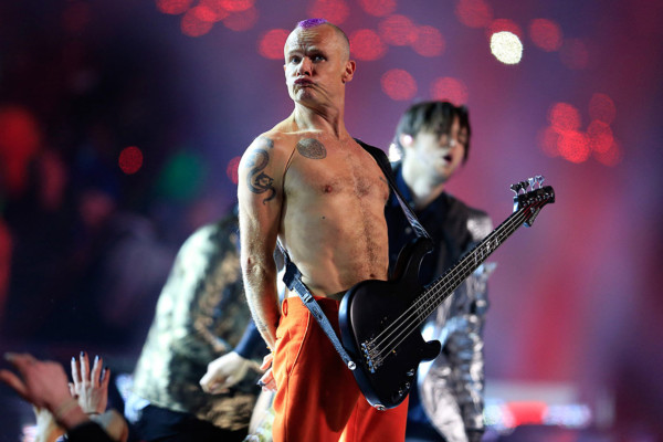 Flea Working on Autobiography