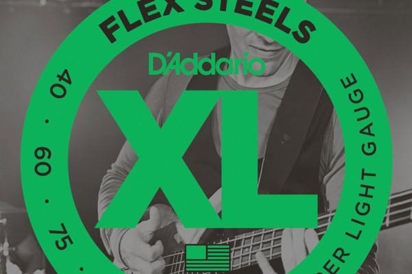 D'Addario Introduces FlexSteels Bass String Series