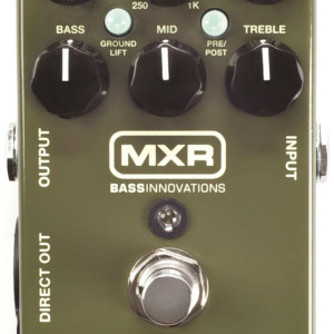 Dunlop Announces the MXR M81 Bass Preamp Pedal