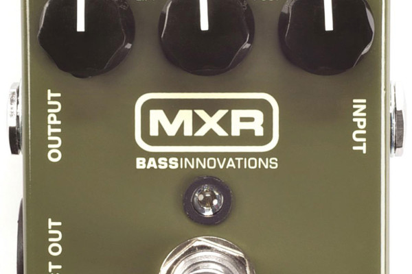 Dunlop Announces the MXR M81 Bass Preamp Pedal