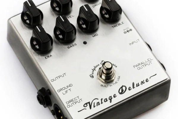Darkglass Electronics Introduces Vintage Deluxe Preamp Pedal