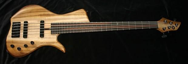 AC Guitars The Krell Single Cut Bass