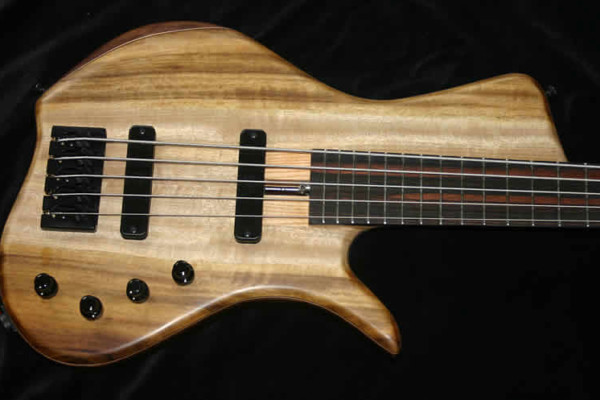 AC Guitars Introduces The Krell Single Cut Model Bass