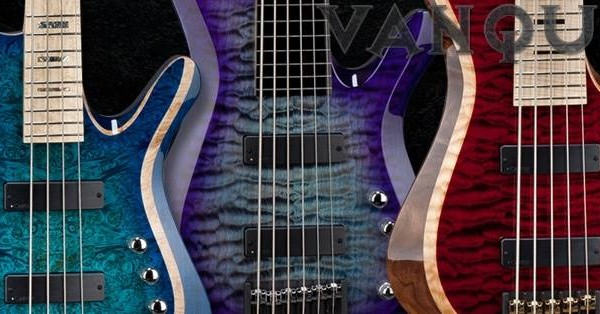 Carvin Introduces Vanquish Series Bass Guitars