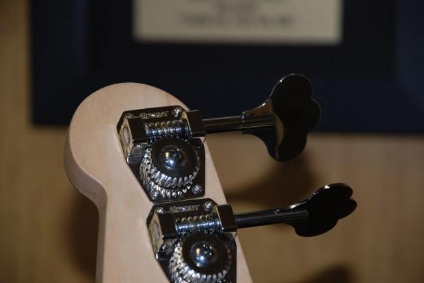 D. Lakin Bass Tuner Closeup