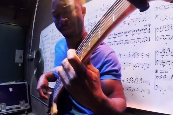 "Anthony Crawford: Bass Solo on Virgil Donati's ""Eleven"""